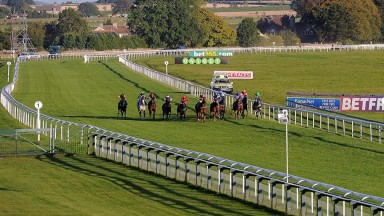 Bath: more white rail will be installed at the track