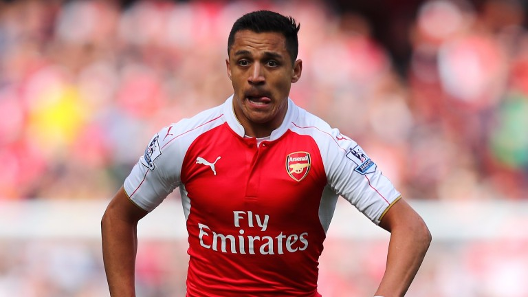 Alexis Sanchez is in fine scoring form for Arsenal