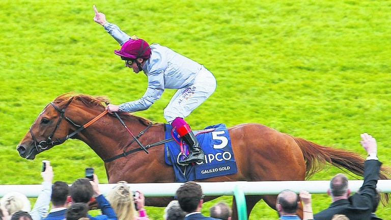 Galileo Gold won the 2,000 Guineas during Harry Herbert's time at Al Shaqab