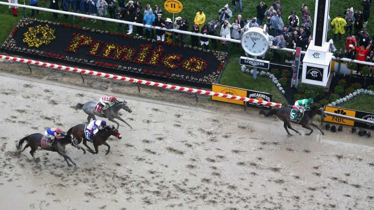The Preakness Stakes takes place at Pimlico on Saturday