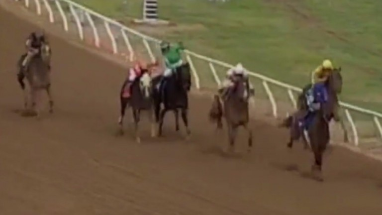 Will Rogers Downs: racing on Monday
