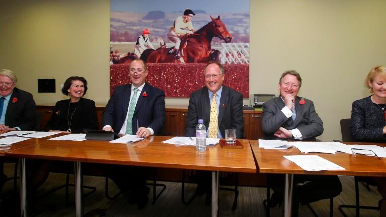 RCA chairman Maggie Carver (second left) signing the members' agreement in 2015.