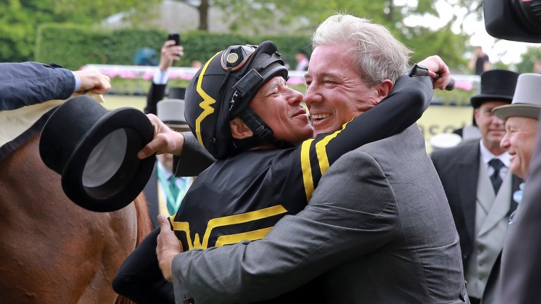 Frankie Dettori and Wesley Ward will team up at Royal Ascot