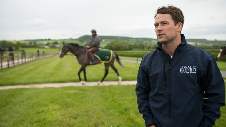 Michael Owen: sure to be sighted at the track