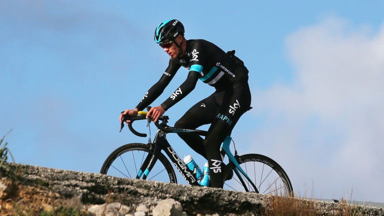 Chris Froome looks in great shape