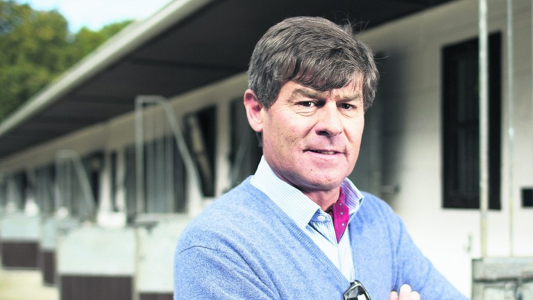 Simon Crisford: trainer of Discreet Hero