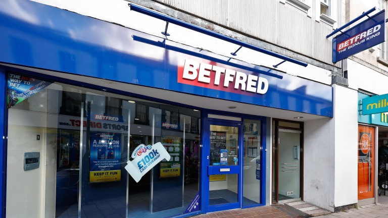 The alarm was raised after Michael Base failed to appear at his local Betfred shop