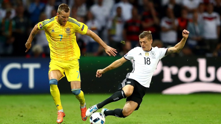 Ukraine's Andriy Yarmolenko is a potent attacking threat