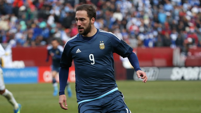 Gonzalo Higuain is part of a potent Argentina attack