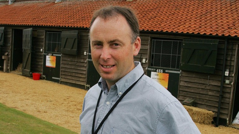 Brendan Holland: found three yearlings to breeze on the opening day of Book 2