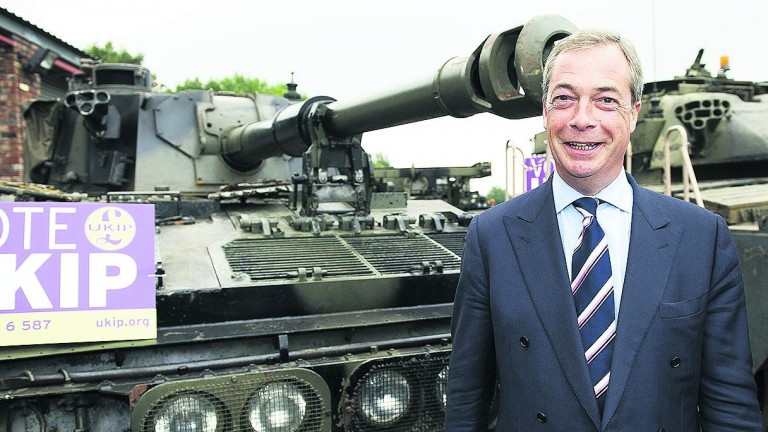 Nigel Farage: will he seek election to parliament?