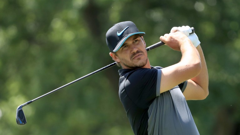 Brooks Koepka went close to providing an ante-post return