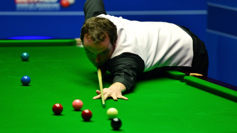 Sam Baird played against Mark Selby at the Crucible