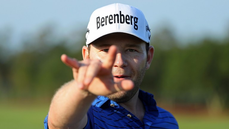 Branden Grace could be getting his hands on another trophy