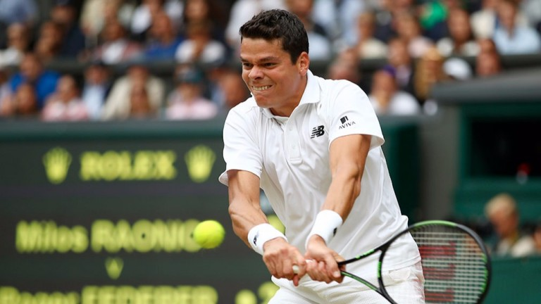 Milos Raonic has the power and weapons to trouble Dominic Thiem