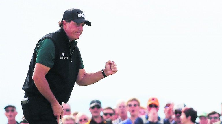 Phil Mickelson enjoys the challenge of TPC Boston