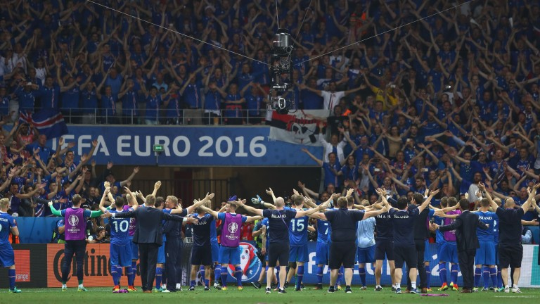 The Iceland team provided a prime example of what working together can achieve
