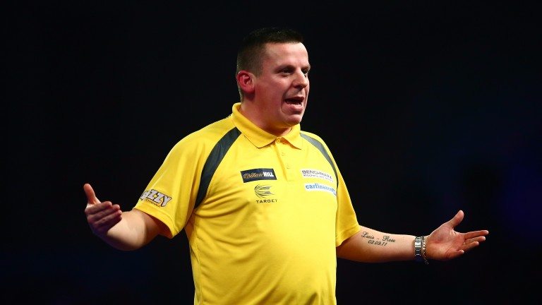 Dave Chisnall can spring a surprise in the desert