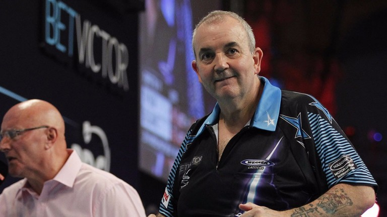 Phil Taylor is a long way from his old self