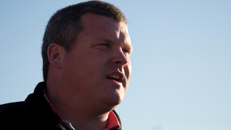 Gordon Elliott: was the toast of the Bellewstown crowd in the summer of 2015 after seven-timer on the day