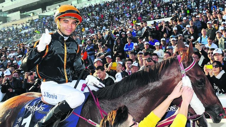 Joao Moreira: has ridden six winners twice before