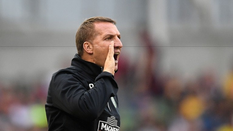 Brendan Rodgers is set to choose a strong side