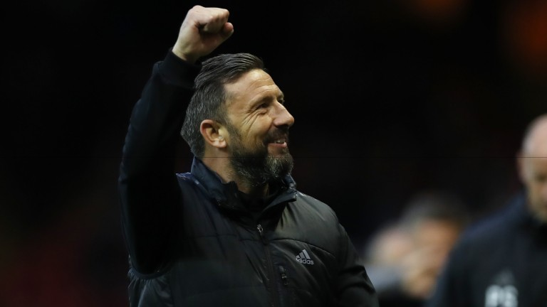 Aberdeen manager Derek McInnes has a full squad to choose from