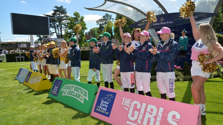 The Shergar Cup will feature four teams of three jockeys and is expected to attract a crowd of around 30,000 at Ascot on Saturday