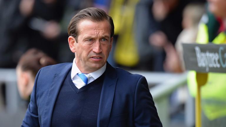 Leyton Orient manager Justin Edinburgh