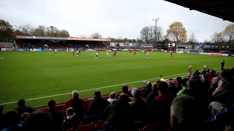 Aldershot's Recreation Ground