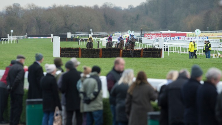 Uttoxeter: stages the £125,000 Betfred Midlands Grand National this afternoon