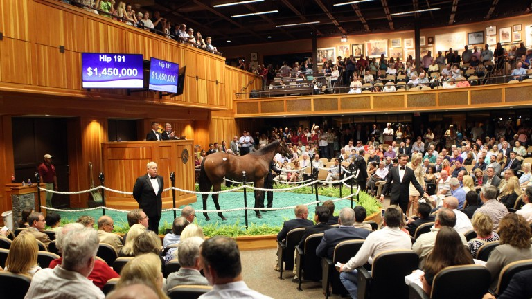 Fasig-Tipton's next yearling sale will take place at Fairplex in Pomona