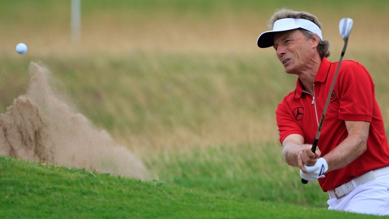 Bernhard Langer looks the man to beat at Greystone once again