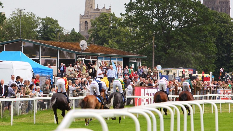 Worcester: great place to watch racing in the summer