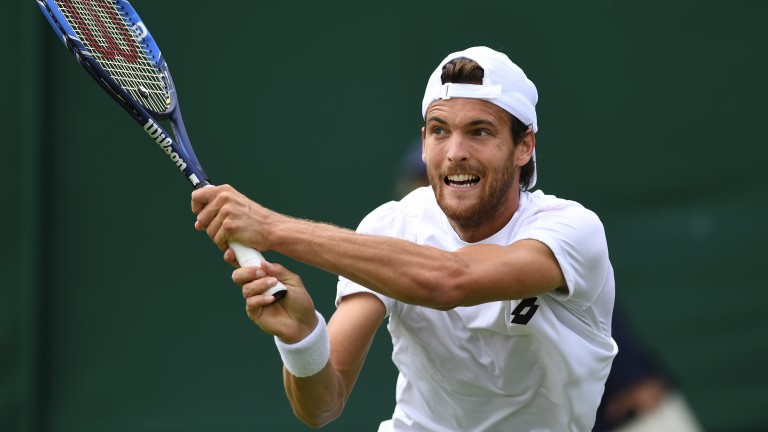 Joao Sousa looks vulnerable in Sofia