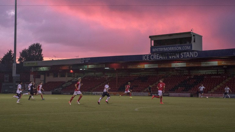 Crewe take on Bolton at Gresty Road