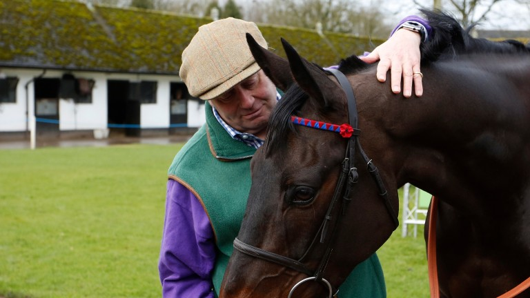 Henderson with dual Champion Chase hero Sprinter Sacre