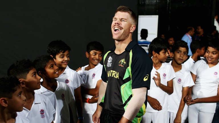 David Warner has had plenty to smile about recently
