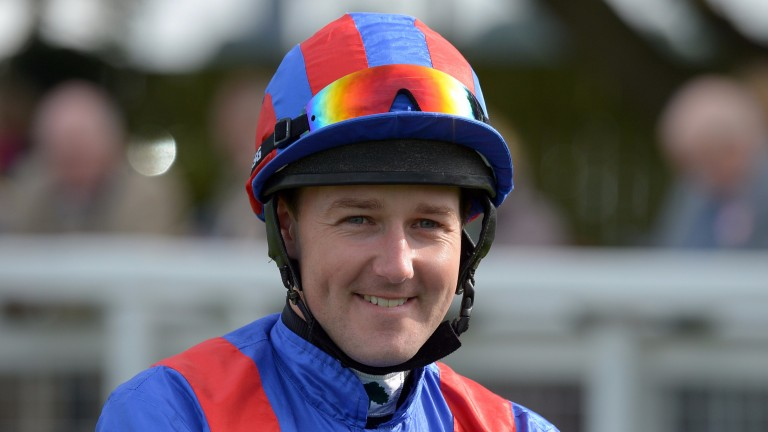 Tom Queally: returns from a winter in America to ride at Kempton on Wednesday evening