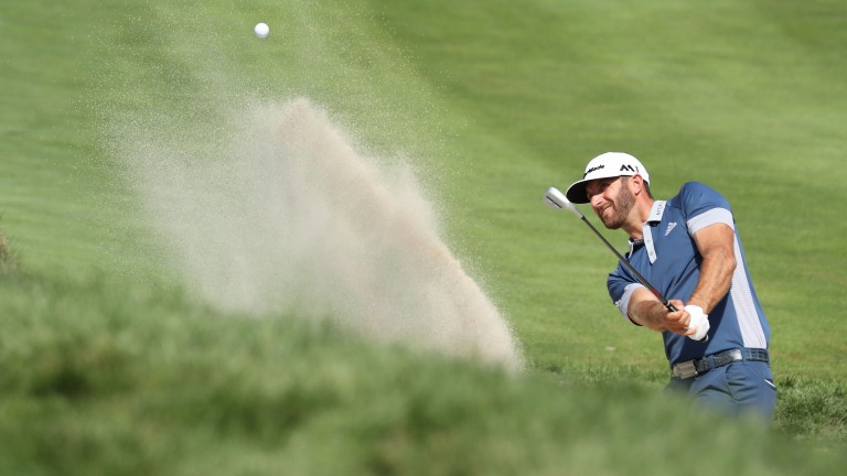Dustin Johnson is gunning for back-to-back FedEx titles