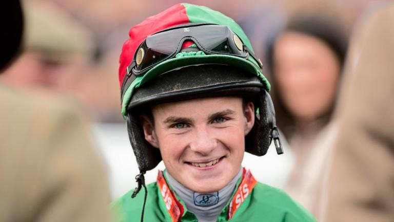 Adam McNamara: leading contender for the apprentice title