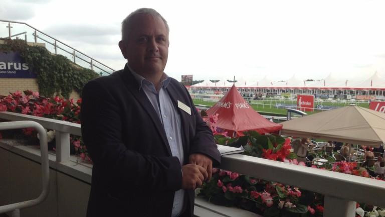 Horseracing Bettors Forum chair Simon Rowlands