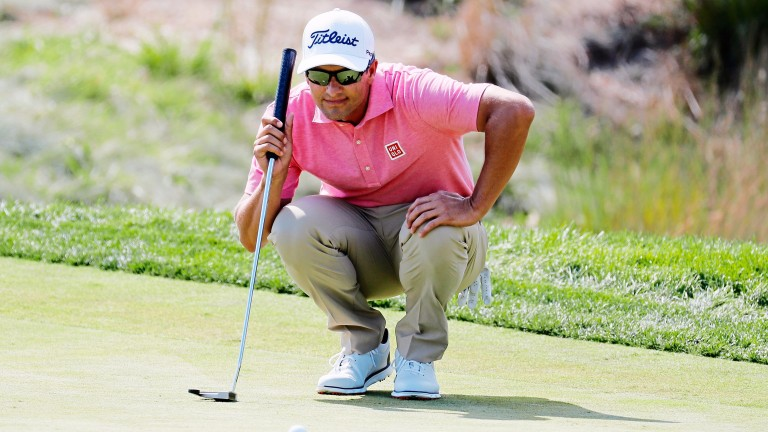 Adam Scott fired 64 despite missing lots of putts