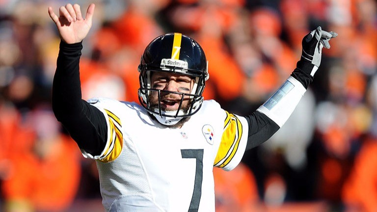 Pittsburgh quarterback Ben Roethlisberger has a great offence to work with