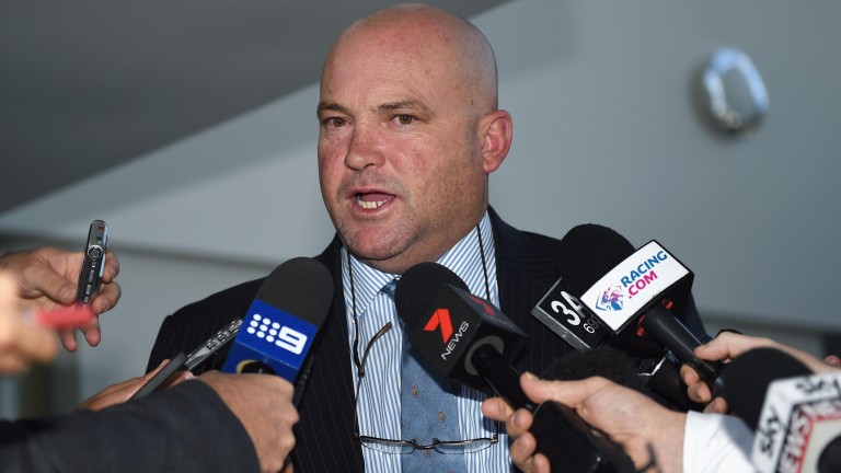 Peter Moody: voices his opinion on proposed strike action in Queensland