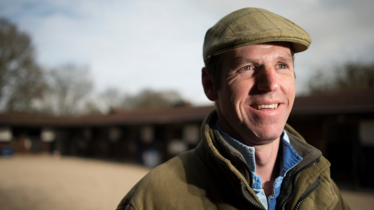 Jamie Snowden: Lambourn trainer has 40 horses to go to war with this term