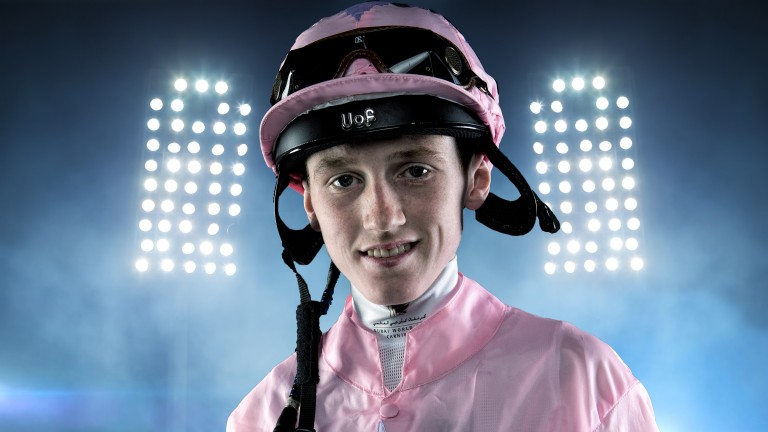 David Egan: leads race for apprentice title