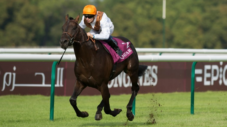 Vadamos on his way to victory in the Prix du Moulin