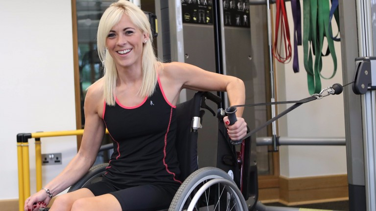 Sammy Jo Bell: spent part of recovery in wheelchair
