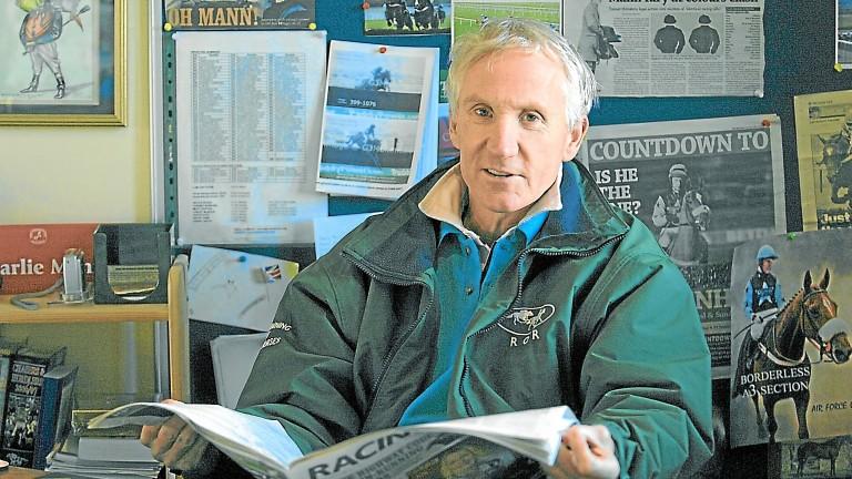 Charlie Mann: landmark birthday for the Lambourn trainer
